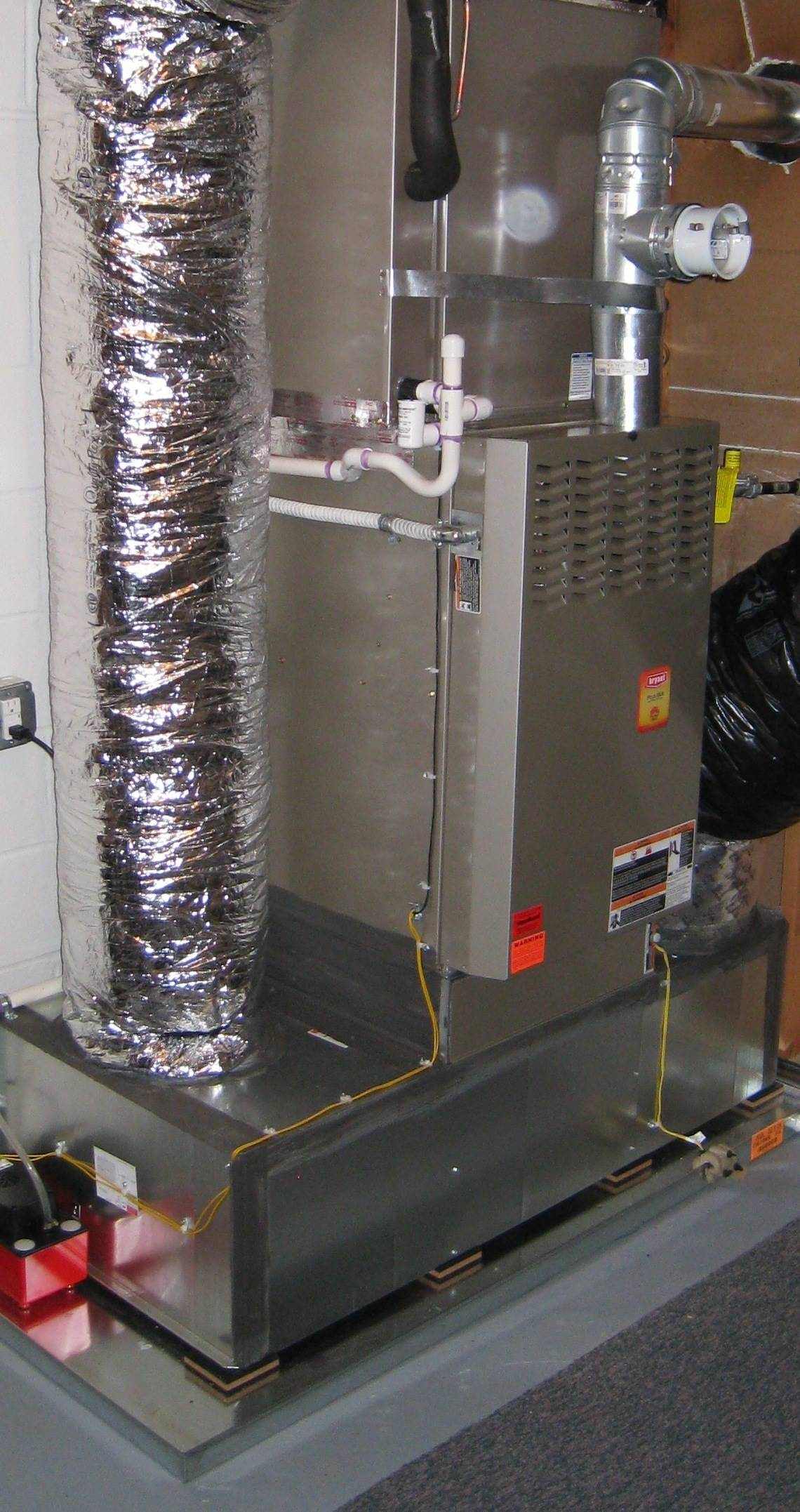 Hvac gas furnace